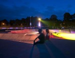 traverso-vighy project urban nature skatepark lighting design alingsas sweden